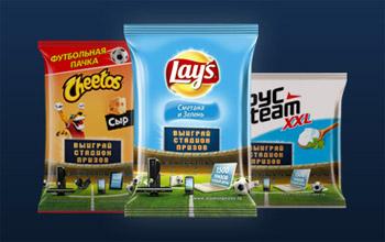 Акция «Стадион призов» от «Lay's», «Cheetos», «Хрусteam»
