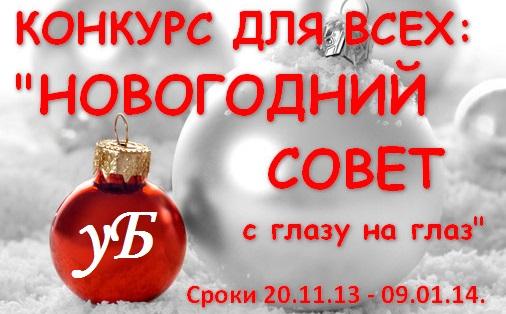 Обзор на конкурс «Новогодний совет с глазу на глаз»